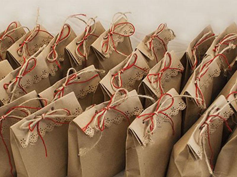 Как сделать пакеты из крафта
